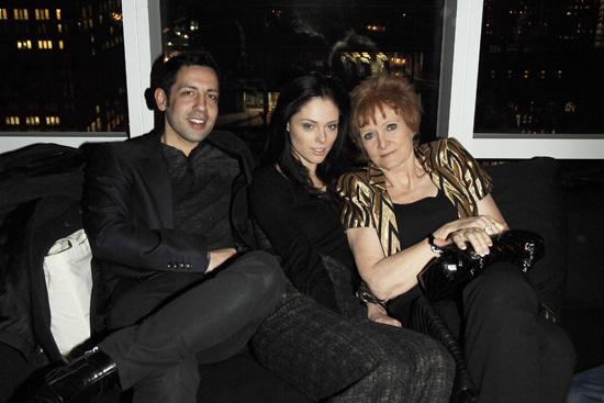 coco rocha dior. With Coco#39;s mom Juanita Rocha