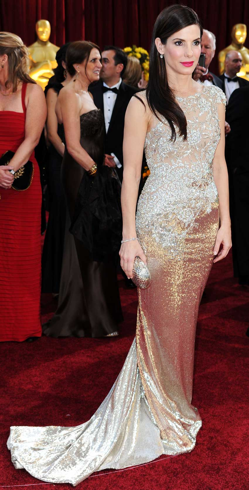 Sandra Bullock Oscar Dress
