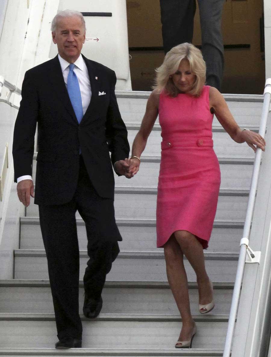 Jill Biden In Jordan: Pretty In Pink! (PHOTO)