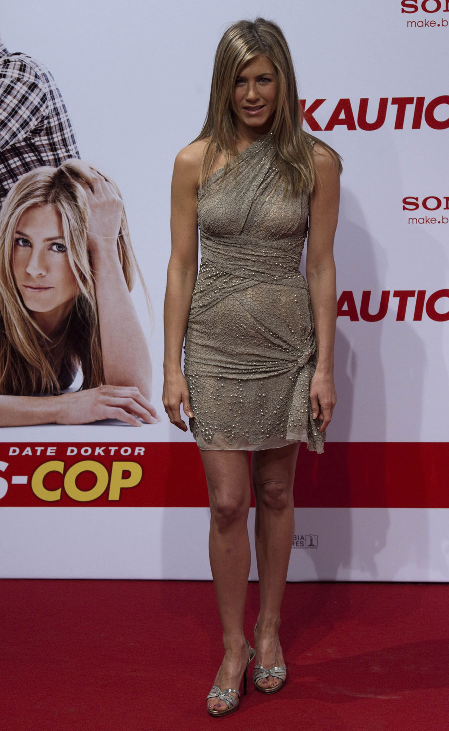 Jennifer Aniston Mini Dress