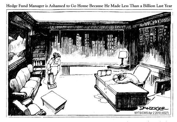 Hedge fund cartoon