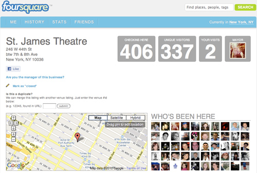 Foursquare on Broadway