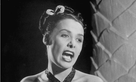 Lena Horne Singing Lena Horne With Her Soon to be