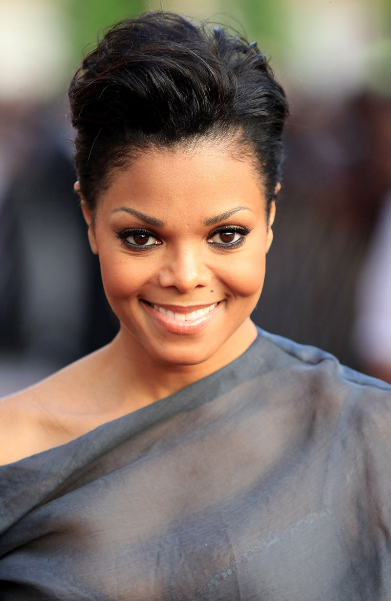 Janet Jackson Short Hair