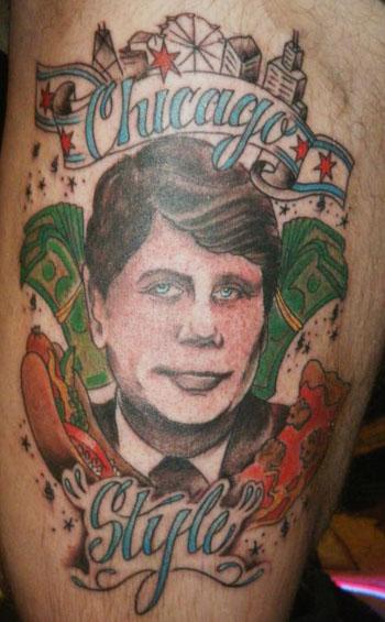 Chicago Artist Jeremy Scheuch Shows Off His \'Chicago Style\' Tattoo ...