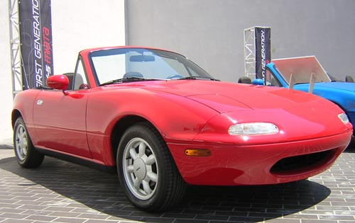 Drop Top Gorgeous Mazda Miata Turning Heads For 20 Years