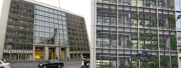 Sensing Four Seasons At A Tokyo Office Building Huffpost