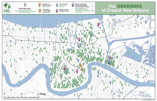 On Eve of 5th Anniversary of Hurricane Katrina Green Renaissance