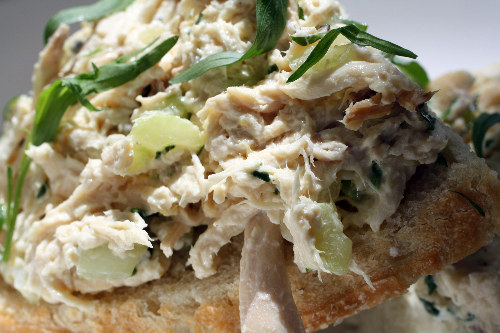 Franglais: Tarragon Chicken Salad Tartine (RECIPE) | The Huffington ...