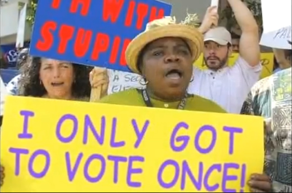 2010 09 06 TrueTheVoteScreenCapture Right Wing Voter Suppression Group Caught Using Fake Photo
