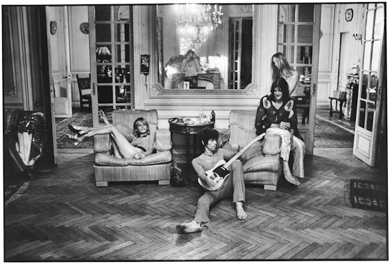 The Rolling Stones at Nellcote