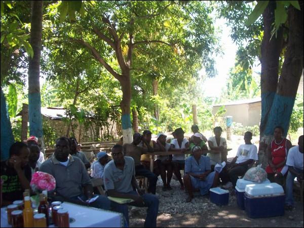 2010-09-28-leNouvellisteDesagriculteursvenusdediffrentescommunesdeJacmel.jpg
