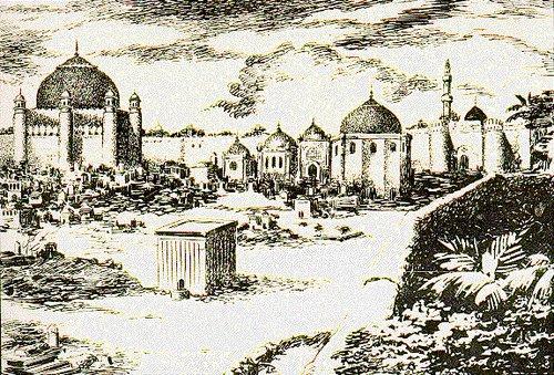 (Jannat al Baqi - Graveyard of Prophet Muhammad (SWS) Relatives and Companions)