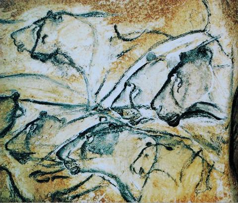 2010-10-12-newworldencyclopedia_Lions_Chauvet_cave.JPG
