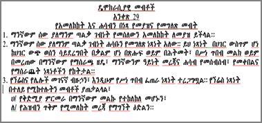 Ethiopian Constitution Pdf