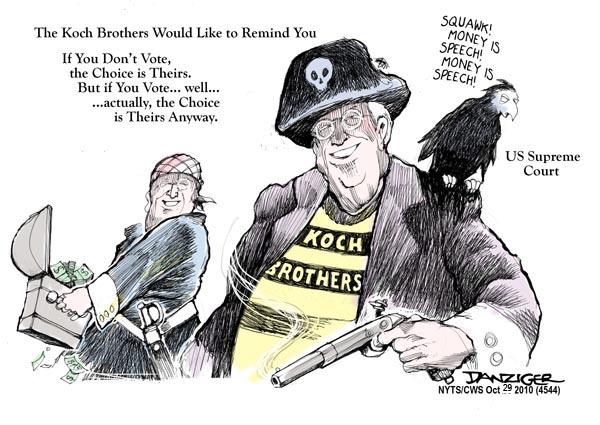 Cartoon: The Koch Brothers Make Their Pick