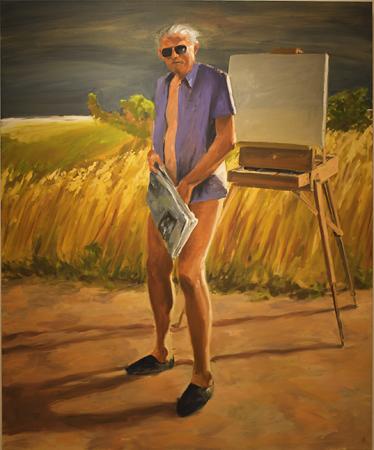 "Eric Fischl Watercolors ""Personal ..."