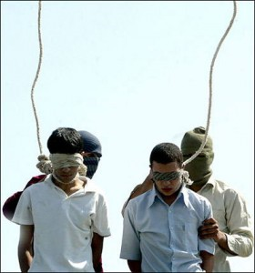 Execution of Gays in Iran
