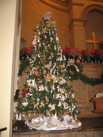 Image result for church christmas tree