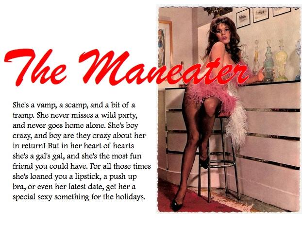She's a Man Eater!!! | Uppity Woman