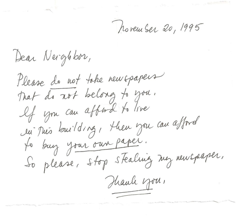 Letter to neighbor about dead tree dolapgnetband letter spiritdancerdesigns Image collections