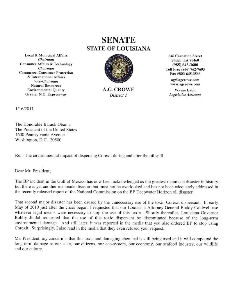 2011-01-26-SenatorCroweCorexitLettertoPresidentObama_Page_120110126at103104.jpg