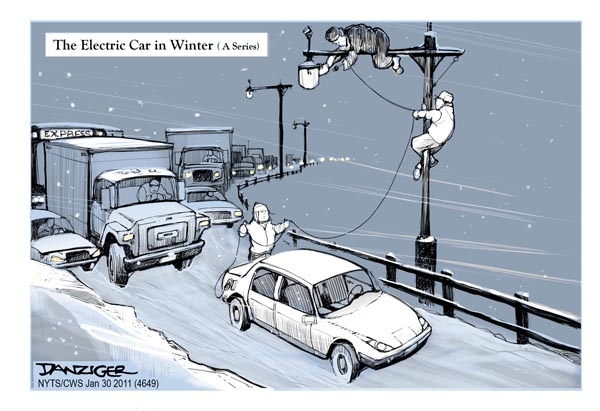 Electric Cars In Winter
