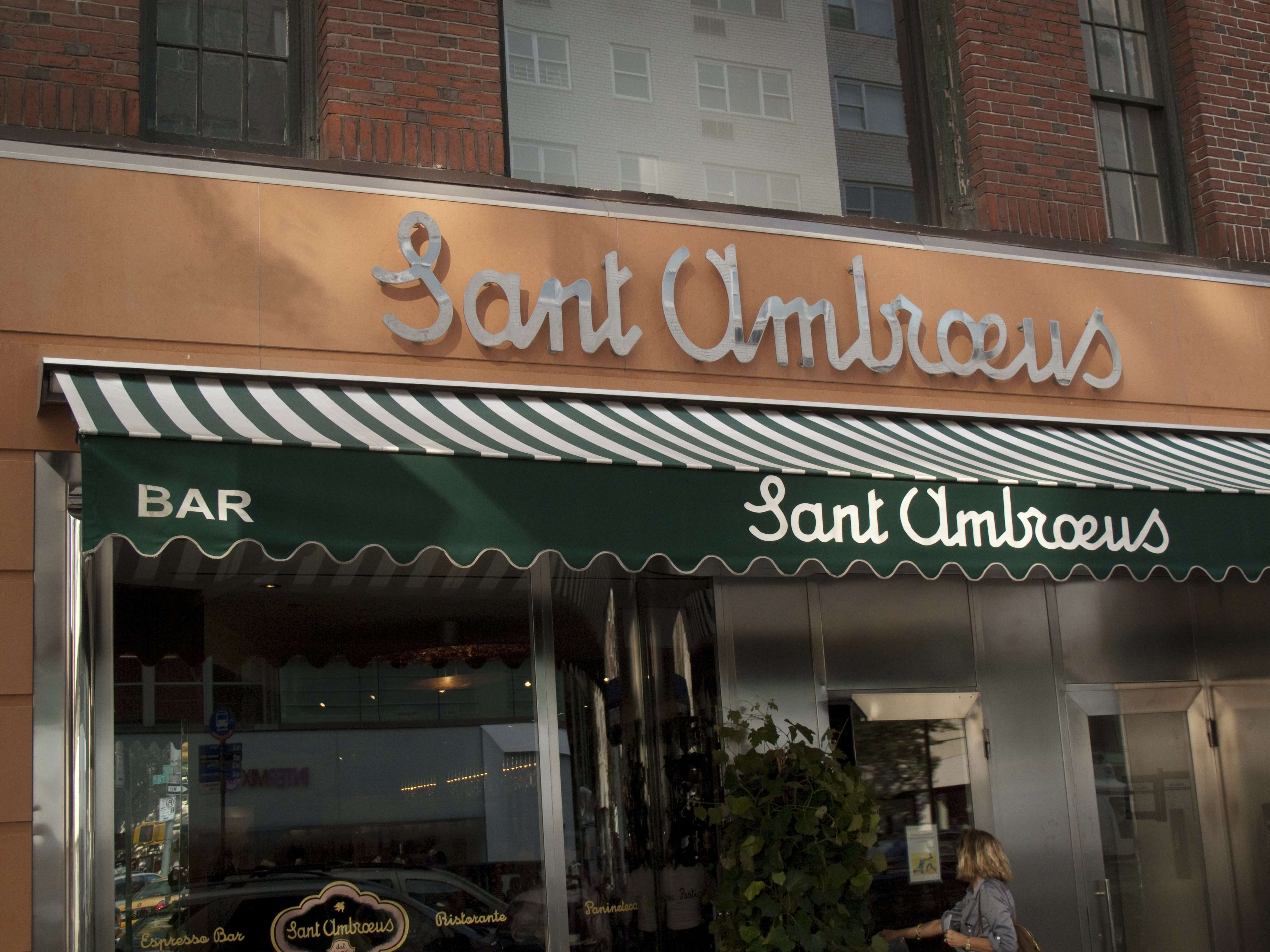 Everybody Eats Where? In New York, Sant Ambroeus Madison