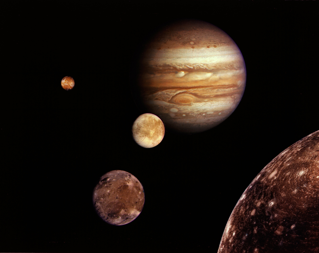 planets moons labeled - photo #24