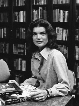 Jackie Kennedy at Doubleday