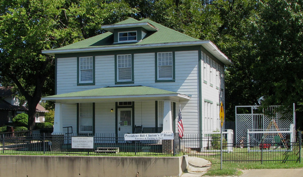 Visit Bill Clinton 39 S Birthplace President 39 S Home Achieves