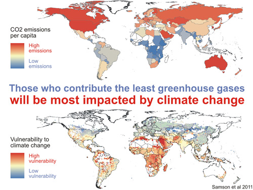 Those Who Contribute the Least Greenhouse Gases Will Be ...