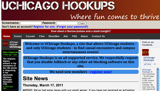 Chicago hookup sites