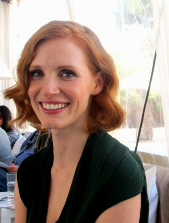 jessica chastain. Jessica Chastain, the winsome,