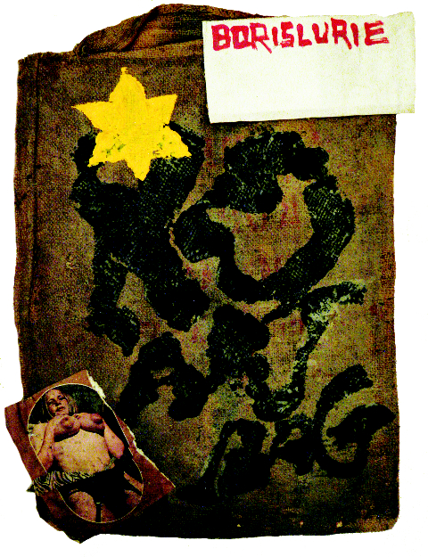 2011-05-28-YellowStarca1965OilandcollageonBurlap.jpg