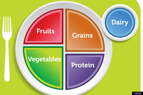 New Usda Food Pyramid Plate