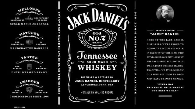 jack daniel u0026 39 s switches up classic label