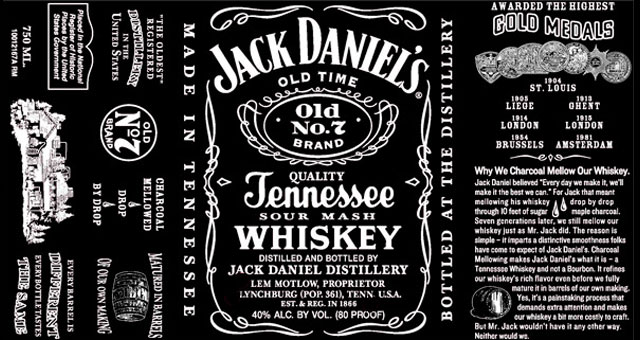 Jack daniels switches up classic label huffpost 2011 06 03 jackolddaniels1g pronofoot35fo Images