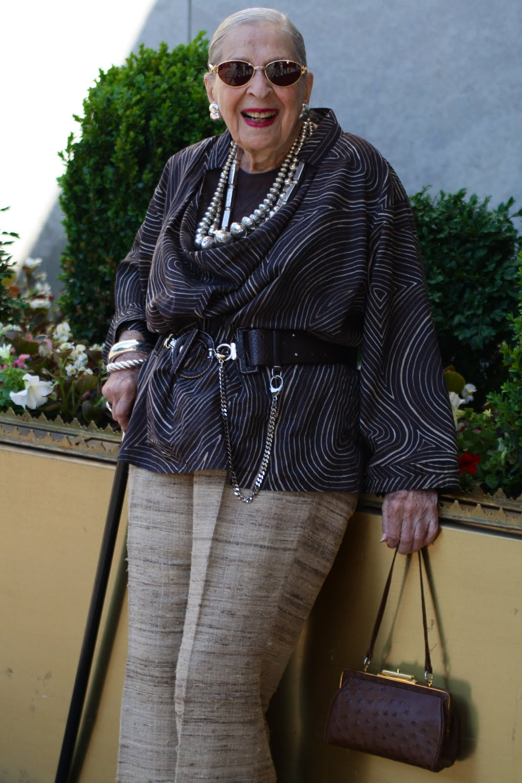 Life And Style Tips From A 99 Year Old Fashion Plate