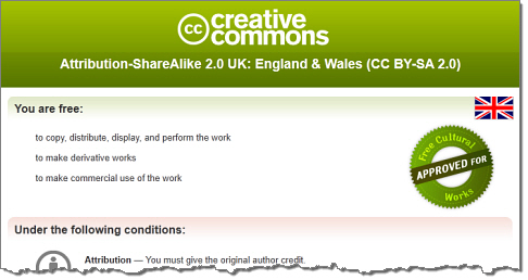 Creative Commons England & Wales
