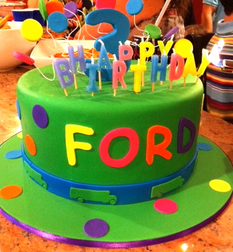 Shrek Birthday Party Cakes