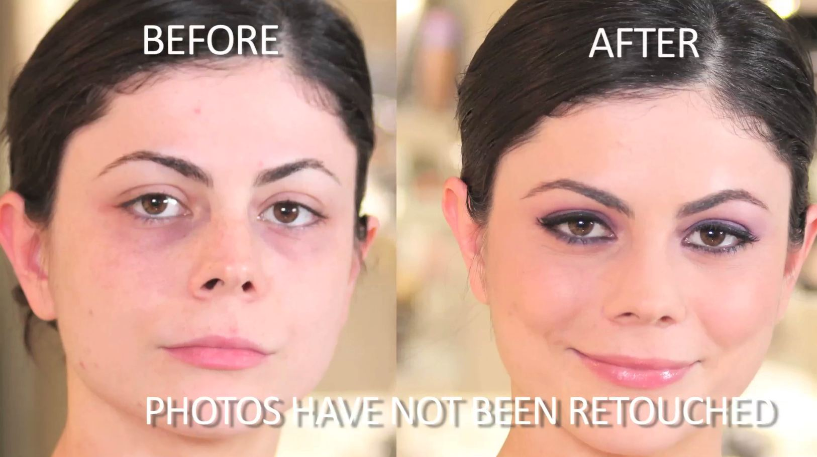 How to beauty tutorial applying false lashes huffpost 2011 07 12 beforeafterg baditri Gallery