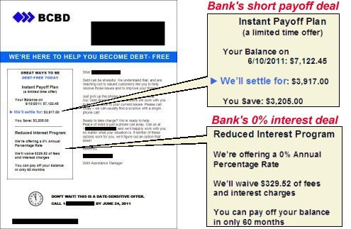 How to reduce credit card interest to zero percent with no effect on 2011 07 26 creditcardsettlementofferhg expocarfo Choice Image