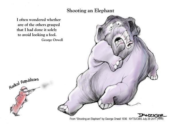 shooting an elephant huffpost