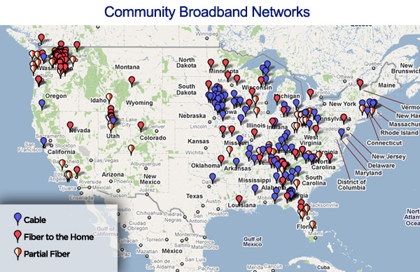 Community Broadband Map