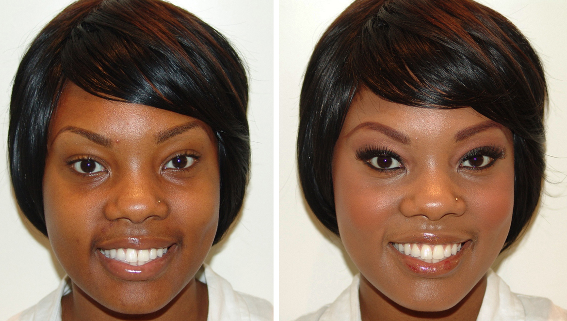 Black Women Before And After Makeup