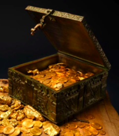 Forrest Fenn's Treasure Chest (Photo Courtesy of Forest Fenn)