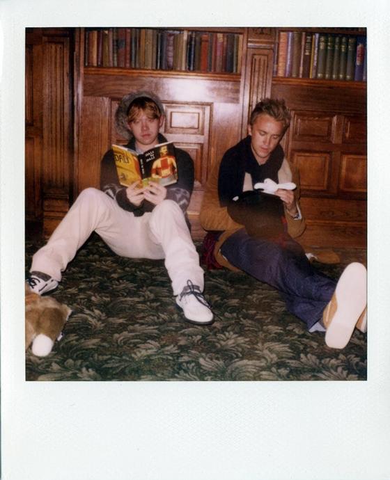 'Harry Potter''s Rupert Grint & Tom Felton Strike Pose For ...