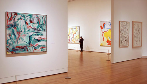 take a virtual tour of moma u0026 39 s radical de kooning retrospective