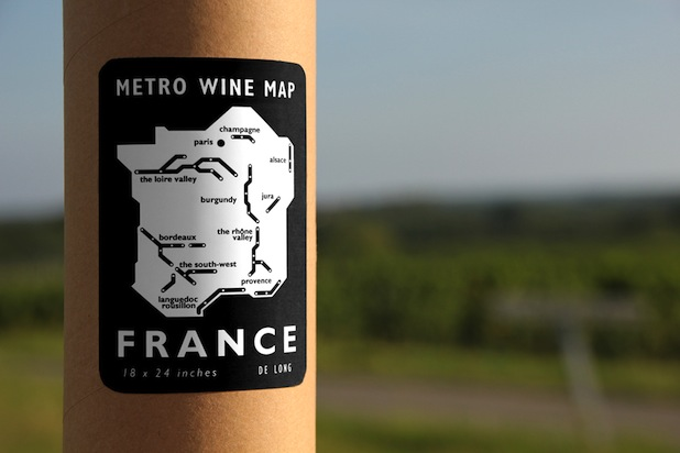 France Wine Subway Map.Traveling Along France S Metro Wine Map Huffpost Life